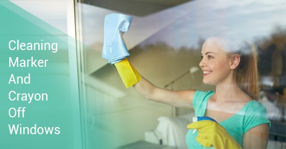 How To Clean Marker And Crayon Off Your Windows