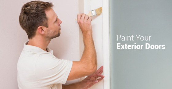 Learn How To Paint Exterior Doors