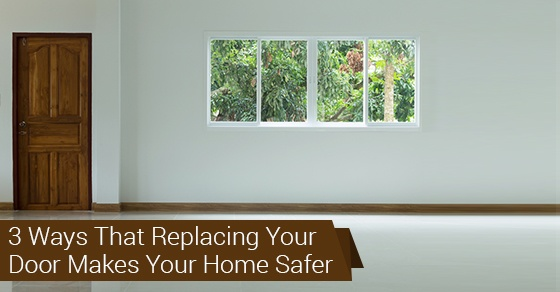 How A Door Replacement Can Improve Your Home's Security