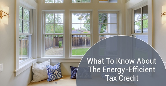 All About The Energy-Efficient Windows Tax Credit
