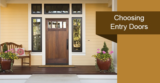 Choosing Entry Doors